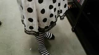 Striped Stockings in The Goodwill