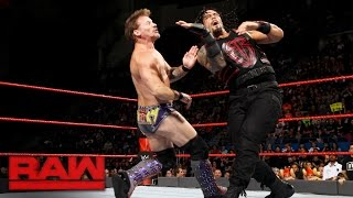 Roman Reigns vs. Chris Jericho - United States Championship Match: Raw, Oct. 31, 2016