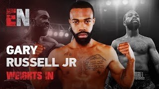 Gary Russell Jr Makes Weight Ready To Defend Strap EsNews Boxing