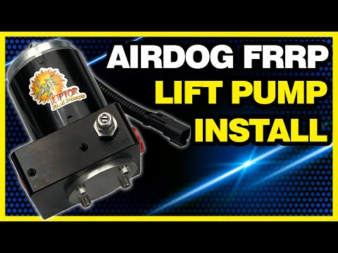 AirDog FRRP Pump Install Video - 2001 Dodge