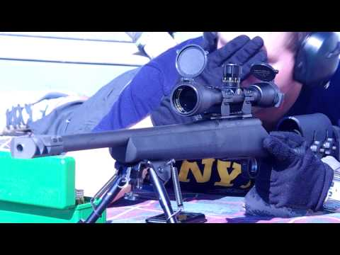 Remington 700 SPS Tactical .308 565 yard balloon shoot - Shot with Pentax K-x