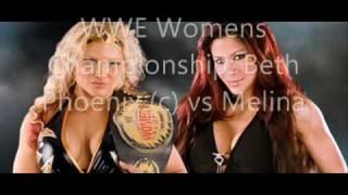 WWE 2009 Royal Rumble Matches