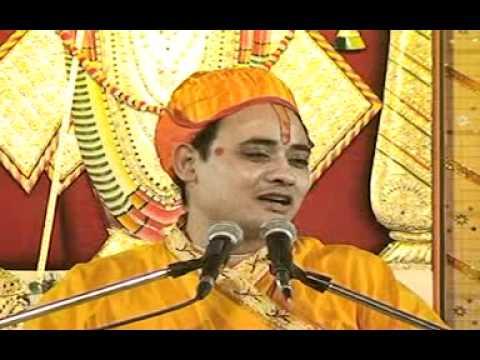 Swami Radhakrishnaji Maharaj In Fun Mood Talking About Guests At Home. video