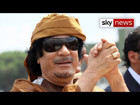 Gaddafi Family Bodyguard Tells Sky News Former Dictator Headed South