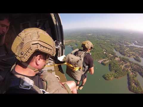 U.S. Army Ranger Water Jump