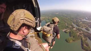 U S Army Ranger Water Jump