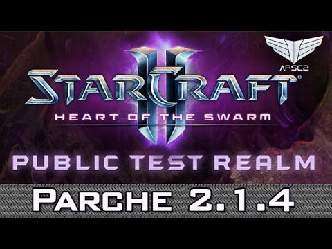 StarCraft II: Heart of The Swarm Public Test Realm Patch 2.1.4 - WCS GameHeart [Español]