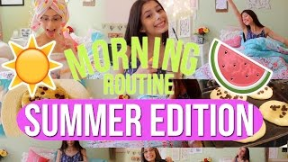 Morning Routine// Summer Edition!