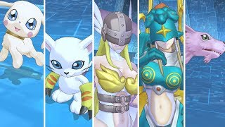 Digimon Story : Cyber Sleuth Hacker's Memory - Gatomon Digivolution Line And Special Attacks