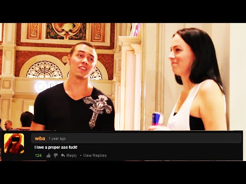 "Prank: PornHub Comments In Public Prank! - Public Pranks - ""Pranks"" - Pranks on people - 2014 Pranks"