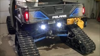 Polaris Ranger LED Backup Light Problem Fixed Using Factory Wires