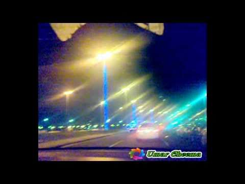 Traveling, On Jeddah Roads Night,  Saudi Arabia