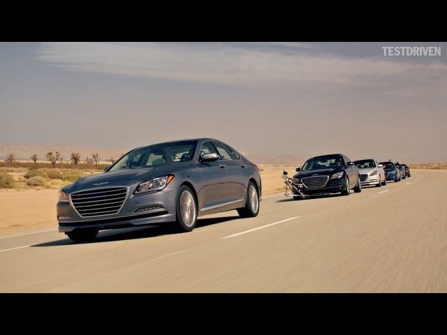 Hyundai - The Empty Car Convoy - YouTube