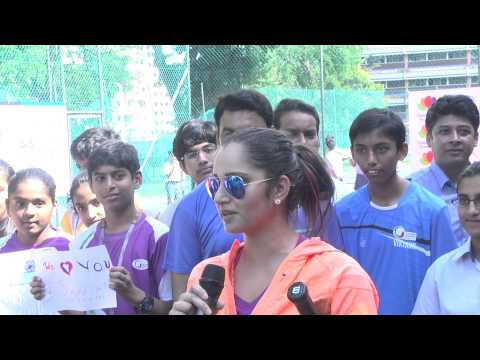 Giis Leadership Lecture Series 2014 - Sania Mirza And Rohan Bopanna video
