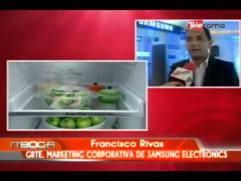 Samsung presnta nueva refrigeradora con Digital Inverter