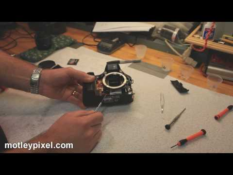 Canon EOS 30D Shutter Repair Part 2...SUCCESS!