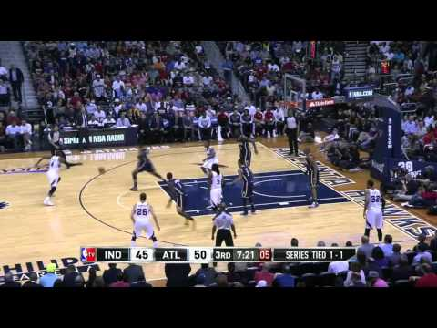 Indiana Pacers vs Atlanta Hawks Game 3 | April 24, 2014 | NBA Playoffs 2014
