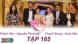 Thành Vân - Nguyễn Phương | Thanh Giang - Xuân Mai | VỢ CHỒNG SON | Tập 165 | 09/10/2016