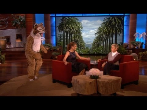 Kate Walsh Gets Scared!