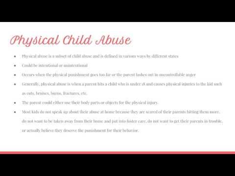 Child abuse presentation thumbnail