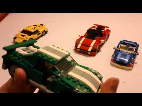 [HD] LEGO Creator Small Scale Car Collection