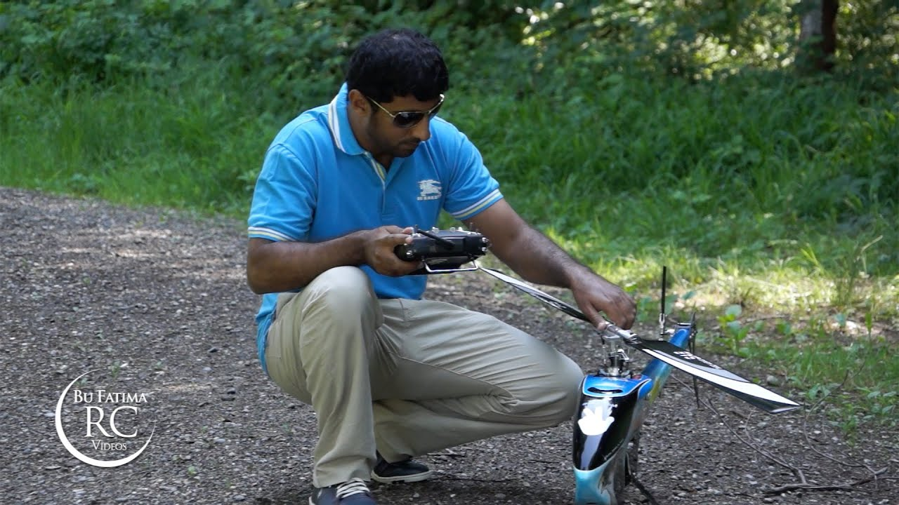 There's RC Helicopter Hobbyists And Then There's This Guy