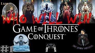GAME OF THRONES - WHO WILL WIN THE IRON THRONE * The Epic game * Games of Thrones: Conquest