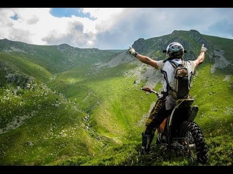 This is enduro paradise
