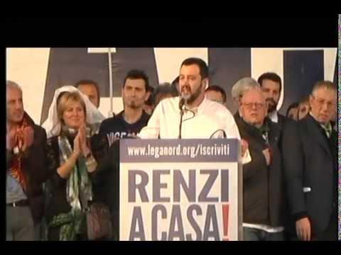 Renzi a casa! Roma 28 Febbraio 2015 - Manifestazione - diretta live