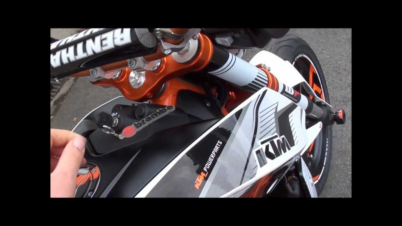 new 2012 ktm duke 690 iv powerparts edition youtube. Black Bedroom Furniture Sets. Home Design Ideas