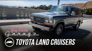 Late 80's Toyota Land Cruisers - Jay Leno's Garage