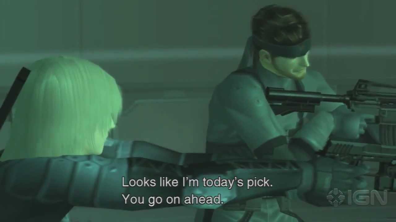 Raiden Mgs2 Hd Metal Gear Solid 2 HD - Raiden