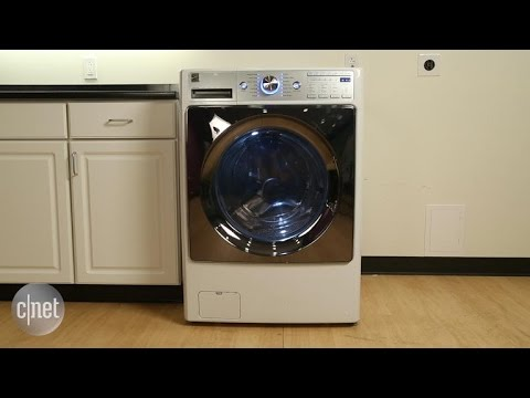 An elite washer with so-so cleaning power