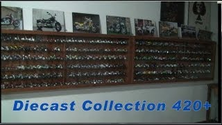 My 1:18 Scale Die-Cast Motorcycle Collection - 420+ (1:6, 1:10, 1:12 and 1:24 too)