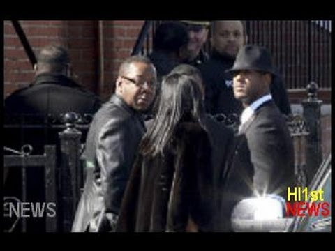 Bobby Brown Leaves Whitney Houston Funeral early over seat argument -- News Story