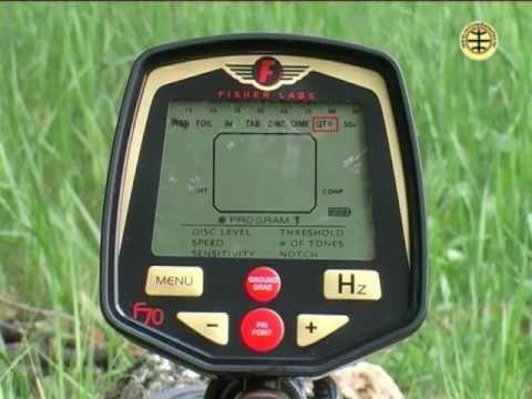 Металлоискатель Fisher F7 , видео обзор - YouTube