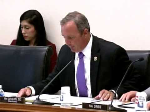 Subcommittee Chairman Duncan Opening Statement at Hearing on Mexico's Energy Reforms
