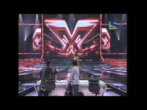 X Factor India - Seema Jha expressively sings Mausam Ki Adla...