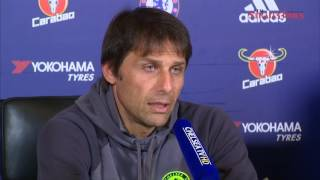 Conte warns Chelsea to forget about Spurs