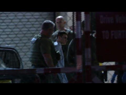 Florida school shooting suspect brought to jail