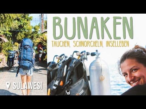 Schnorcheln & Tauchen bei Bunaken • Sulawesi • Weltreise Vlog