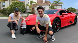 The $8,000 Challenge with Brent Rivera!