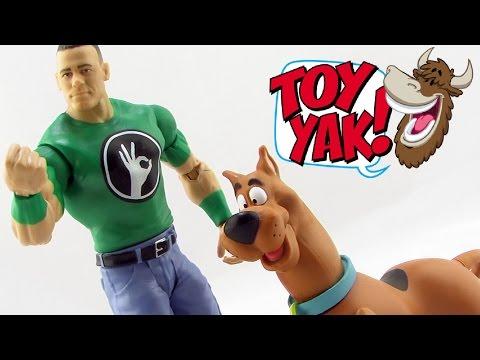 Mattel WWE Wrestling Scooby-Doo WrestleMania Mystery 2-Pack John Cena & Scooby-Doo Video Review