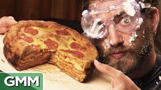 Pizza Cake Birthday Surprise