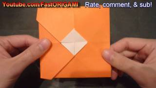 How To Make Cool Envelope Origami 封筒折り紙 Sobre 信封 Koperta Amplop Конверт
