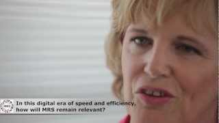 Jane Frost CBE: MRS and the market research industry