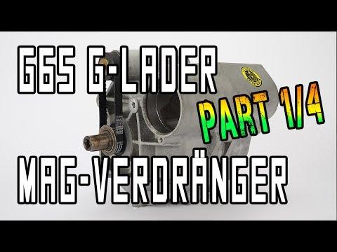 G65 Lader mit Prototyp-Magnesium-Verdränger | www.g65-lader.de