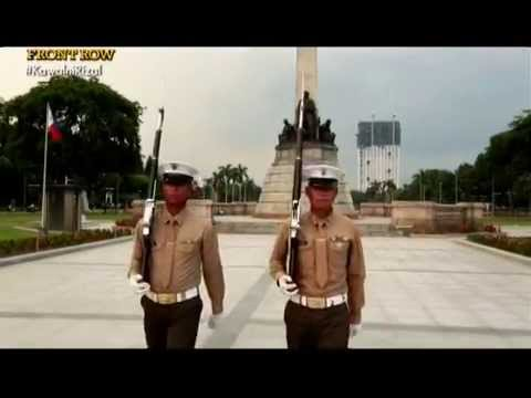How hard is it to be Dr. Jose Rizal's honor guard? | Front Row