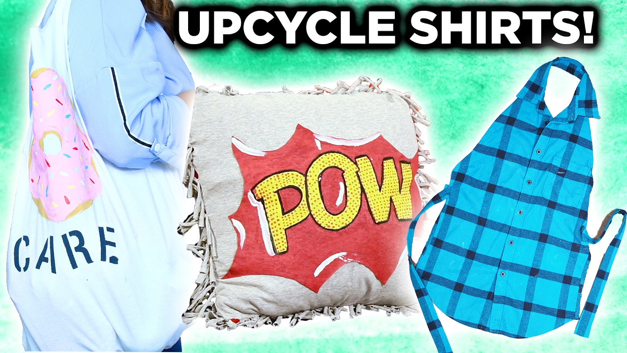 How To Make A No Sew TShirt Tote Bag In 10 Minutes