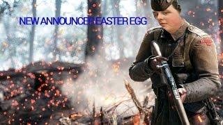 New Announcer Easter egg - Battlefield 1